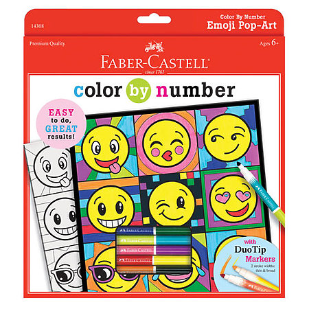 Color By Numbers Marker Kits