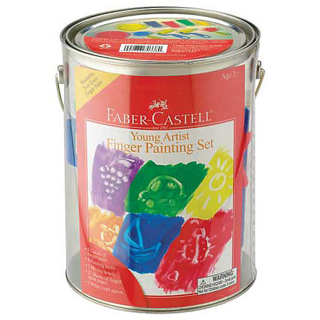 Young Artist Finger Painting Set