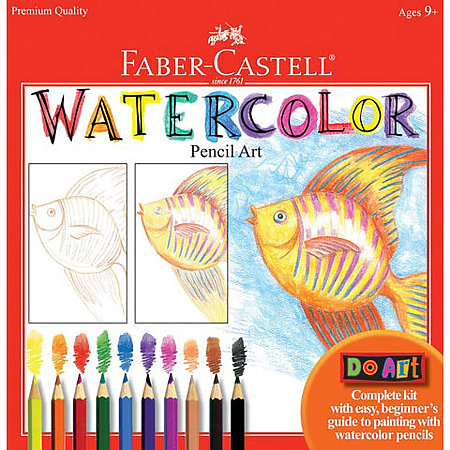 Do Art   Watercolor Pencil Art