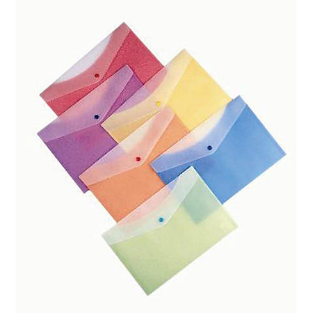 2-Tone 2-Pocket Poly Envelopes