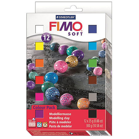 10-Color Fimo Soft Set