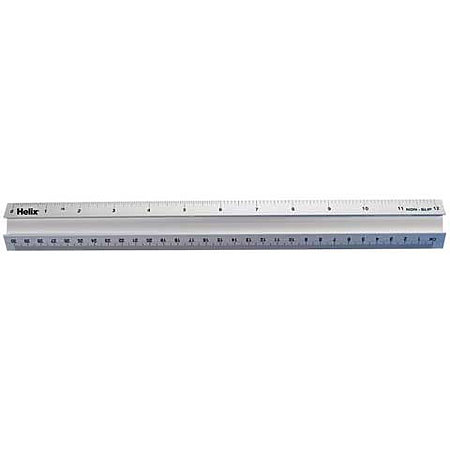 "12"" Stainless Steel Safety Ruler"