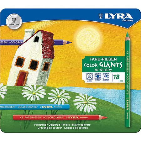 Color-Giants Colored Pencil Sets