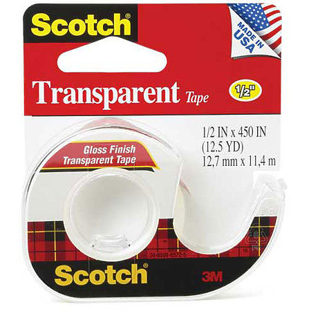 #144 Transparent Tape