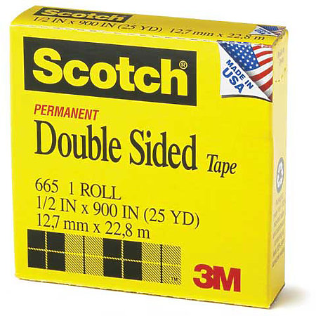 #665 Scotch Double-Coated Tape