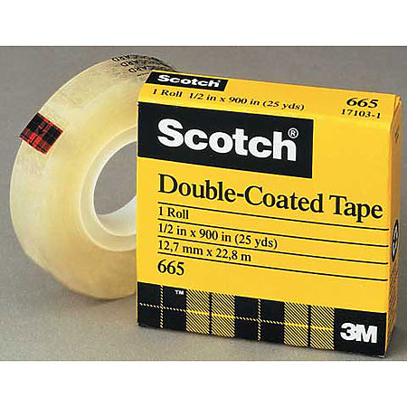 #666 Scotch Double-Coated Tape