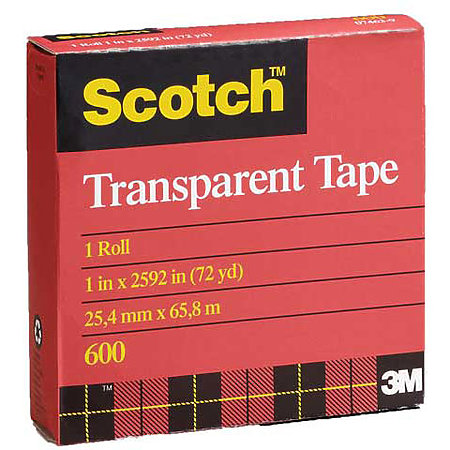 #600 Transparent Cellophane Tape