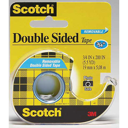 #238 Scotch Removable Double Stick Tape