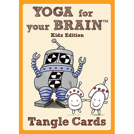 Yoga for Your Brain Kidz Edition Tangle Cards