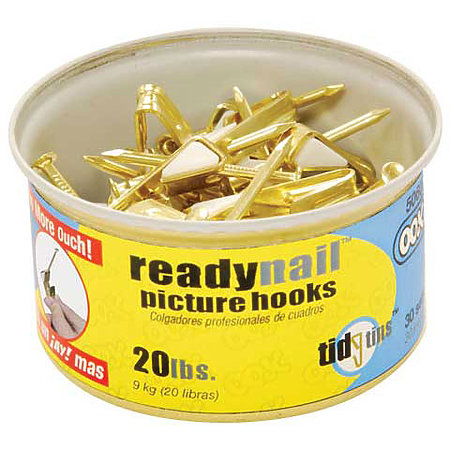 ReadyNail Picture Hanger Tidy Tins