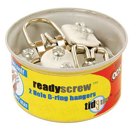 ReadyScrew D-Ring Hanger Tidy Tins