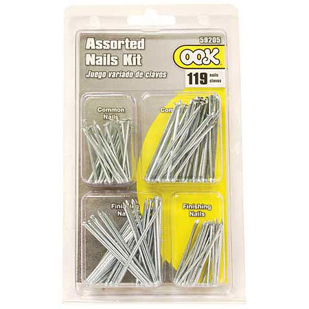 Common Nails 119-Piece Assorted Set