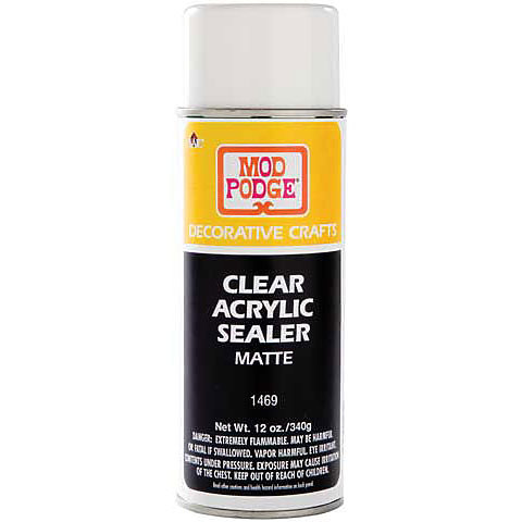 Mod Podge Clear Acrylic Sealer Art