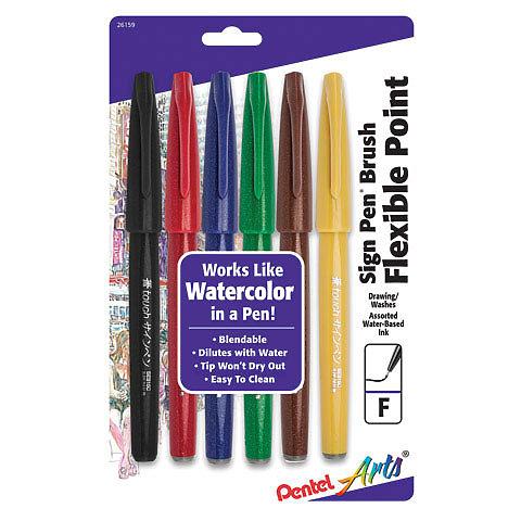 Pentel Pls520v Sign Pen Fine Violet for sale online