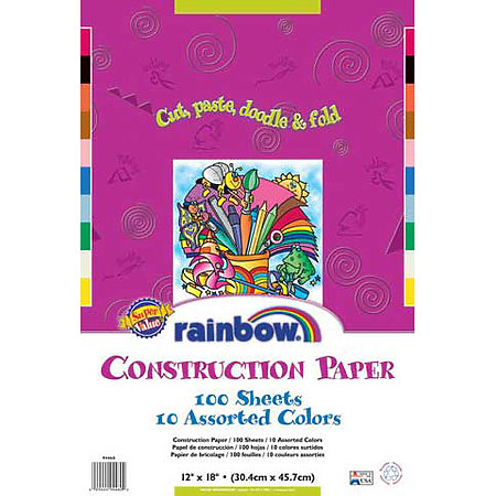 Construction Paper Value Packs