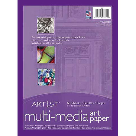 Art1st Premium Multi-Media Art Paper Sheets