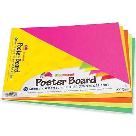 Poster Board 5-Sheet Packs