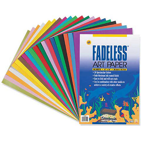 Fadeless Paper Sheets