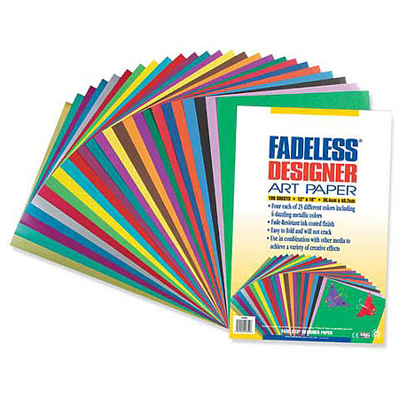 Designer Fadeless Sheets
