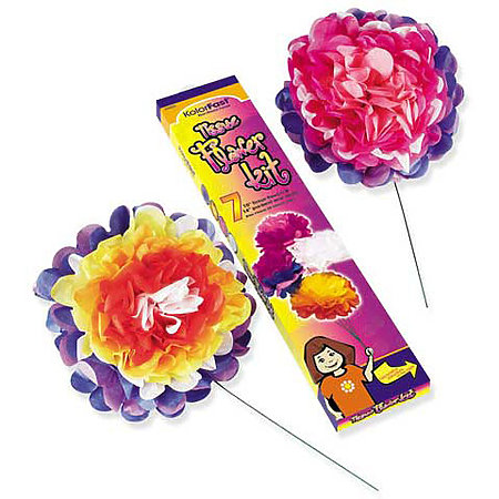KolorFast Tissue Flower Kits