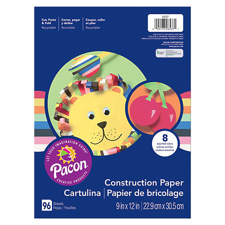 Light-Weight Construction Paper