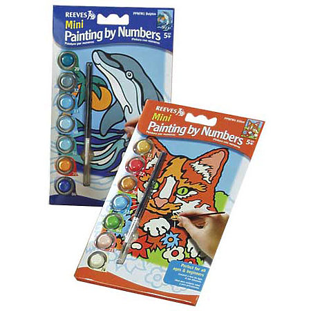 Mini Painting by Numbers Sets