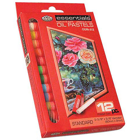 Essentials Oil Pastel Drawing Set