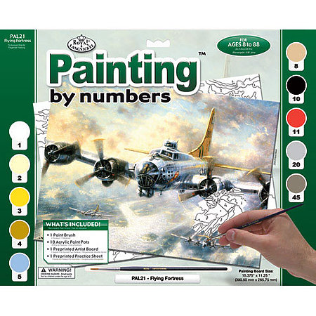 Adult Painting by Numbers Kits