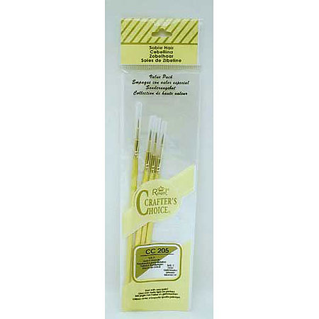 Crafter  s Choice Value Pack Brush Sets