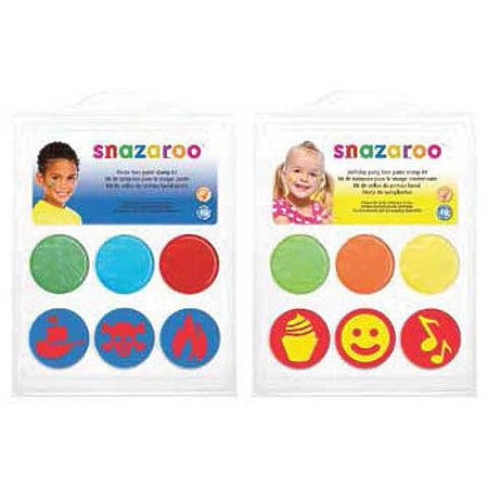 Face Paint Stamp Kits