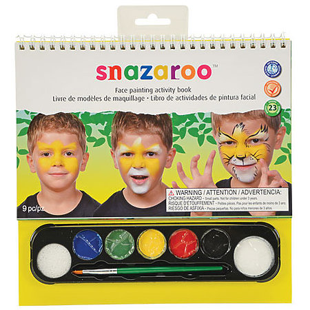 Face Painting Activity Book Set