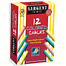 12-stick set   assorted colors - peggable